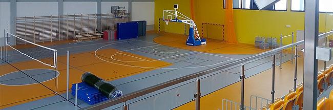 Игровой универсальный спортивный зал